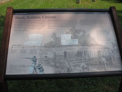 Slave, Soldier, Citizen Marker image. Click for full size.