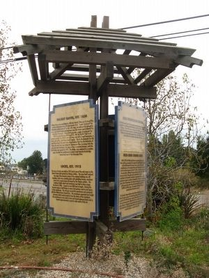 Kiosk at the Chuck Tison Memorial Park image. Click for full size.