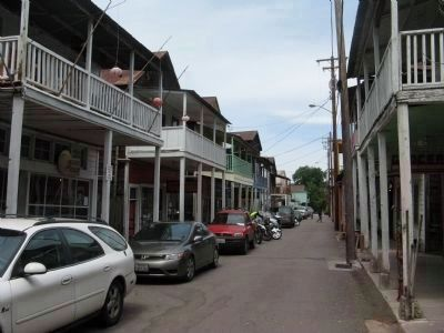 Looking North on Main Street - Locke, California image. Click for full size.