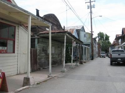 Looking South on Main Street - Locke, California image. Click for full size.