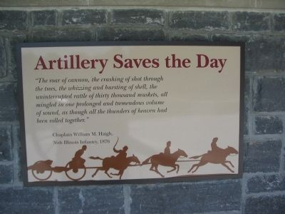 Artillery Saves the Day image. Click for full size.