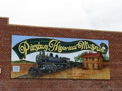 Mural on South Side of Building image. Click for full size.