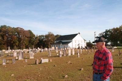 Padgett's Creek Baptist Church Cemetery and Caretaker image. Click for full size.