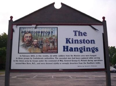 Kinston Hangings Marker image. Click for full size.
