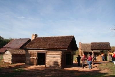 Cross Keys House Restored Out Buildings image. Click for full size.