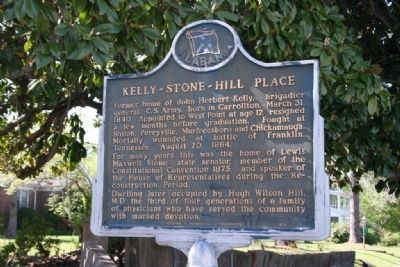 Kelly - Stone - Hill Place Marker image. Click for full size.