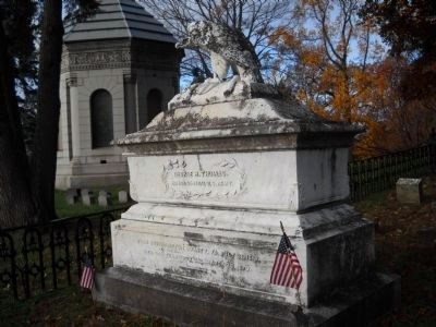 Grave of George Henry Thomas image. Click for full size.