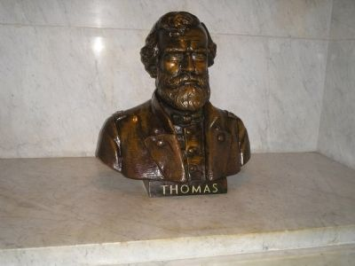 Bust of Gen. George Thomas image. Click for full size.