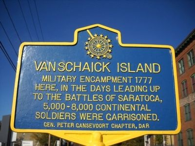 Vanschaick Island Marker image. Click for full size.