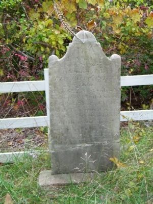 Grave of Rev. Paul Cuffee image. Click for full size.
