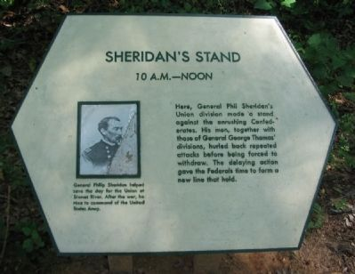 Sheridan's Stand Marker image. Click for full size.