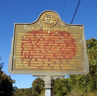 Old Belleview Marker image. Click for full size.