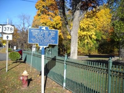 Marker in Menands image. Click for full size.