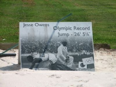"James Cleveland ""Jesse"" Owens Olympic Record Jump 26' 5 1/4"" image. Click for full size."