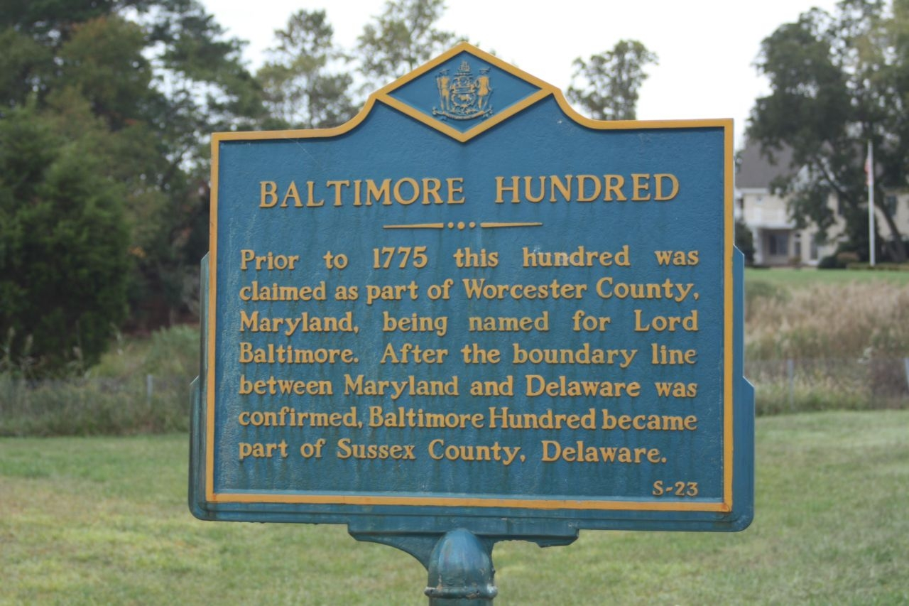 Baltimore Hundred Marker