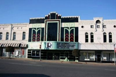 Historical Ritz Theater image. Click for full size.