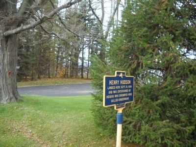 Marker in Stuyvesant, NY image. Click for full size.