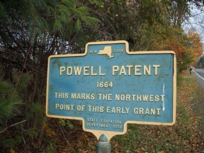 Powell Patent Marker image. Click for full size.