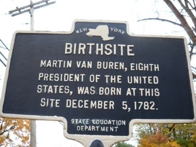 Birthsite Marker image. Click for full size.