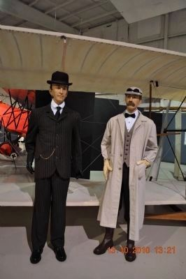 Orville and Wilbur Wright image. Click for full size.