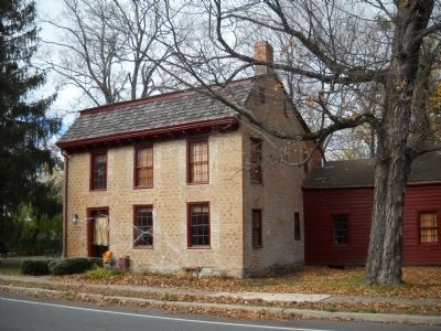 Benedict Arnold House image. Click for full size.