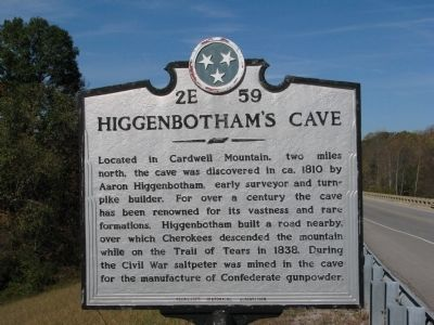 Higgenbotham's Cave image. Click for full size.