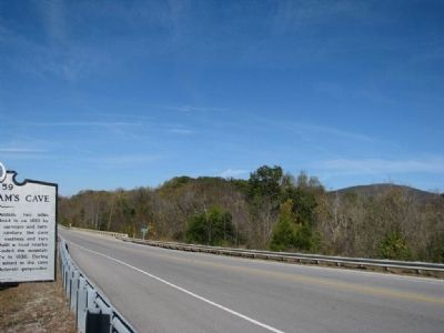 Looking west toward the Collins River Bridge image. Click for full size.
