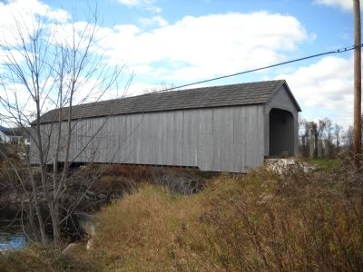Sheffield Covered Bridge image. Click for full size.