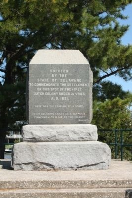 deVries Monument image. Click for full size.