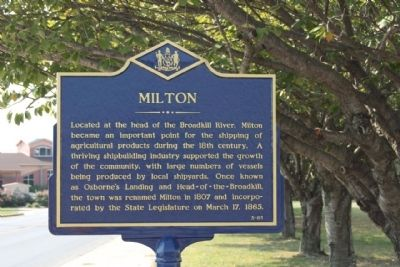 Milton Marker image. Click for full size.