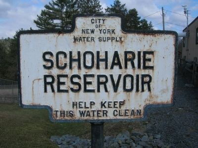 Schoharie Reservoir image. Click for full size.