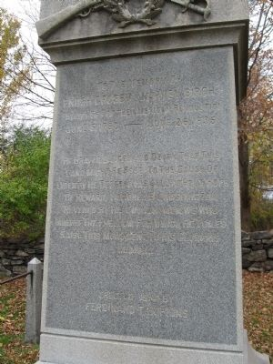Enoch Crosby (Harvey Birch) Monument image. Click for full size.
