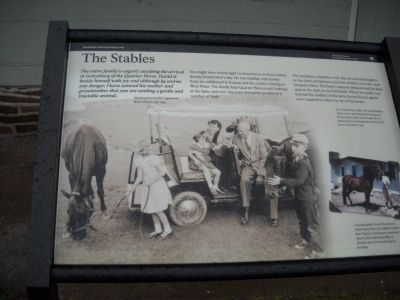 The Stables Marker image. Click for full size.