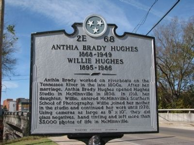 Anthia Brady Hughes Marker image. Click for full size.