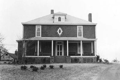 Harbison College President&#39;s Home -<br>West (Front) Facade image. Click for full size.