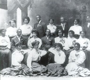 Harbison College Graduating Class of 1890 image. Click for full size.