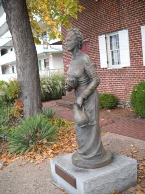 Jennie Wade Statue image. Click for full size.