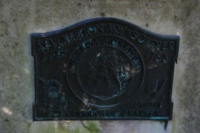 Revolutionary Soldier Marker for William Morrison image. Click for full size.