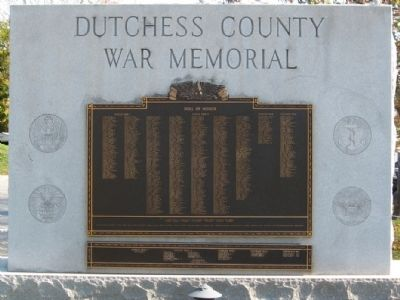 Dutchess County War Memorial image. Click for full size.