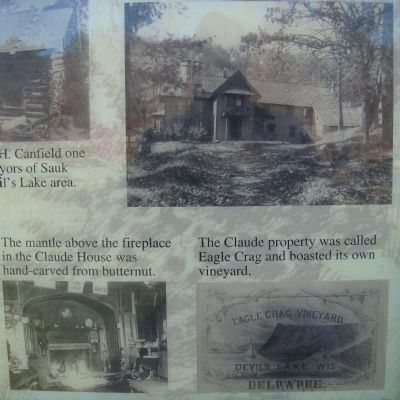 Early History of Devil's Lake Marker image. Click for full size.