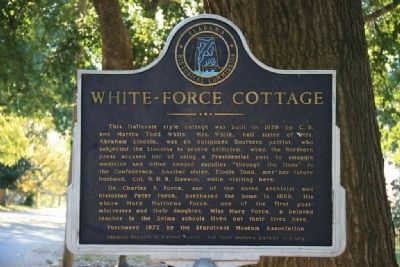 White - Force Cottage Marker image. Click for full size.