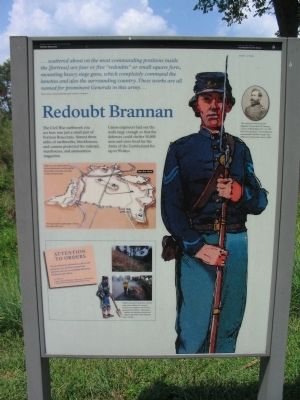 Redoubt Brannan Marker image. Click for full size.