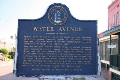 Water Avenue Marker image. Click for full size.