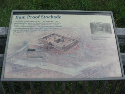 Bum Proof Stockade Marker image. Click for full size.