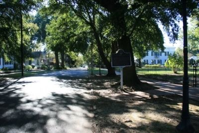 White - Force Cottage Marker on Mabry Street image. Click for full size.