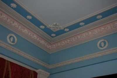 Crown Molding in the Front Parlor image. Click for full size.