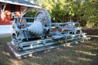 Cannon Lathe From The Selma Naval Gun Foundry image. Click for full size.