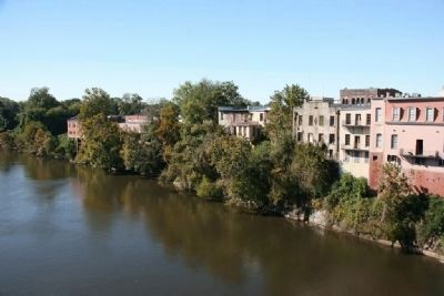 The Backside of the Buildings Along Water Avenue Hanging on the banks of the Alabama River image. Click for full size.