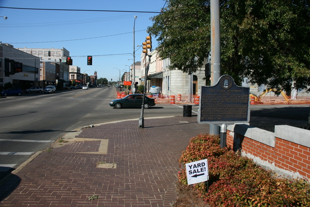 The Selma Movement Marker
