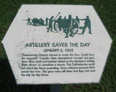 Artillery Saves the Day Marker image. Click for full size.